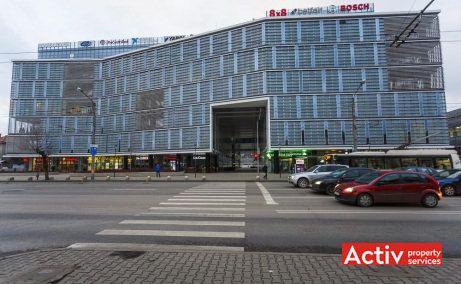 The Office închiriere birouri Cluj-Napoca vederere fațadă