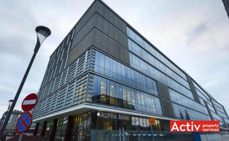 The Office închirieri spații birouri Cluj-Napoca vedere exterioară