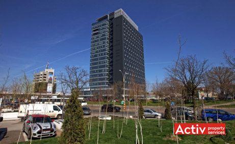 GLOBALWORTH PLAZA birou de închiriat București metrou Aurel Vlaicu vedere zonă