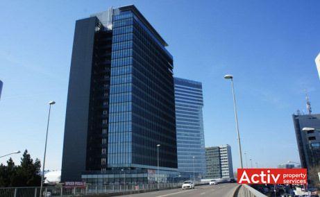 GLOBALWORTH PLAZA închirieri spații birouri București zona nord, perspectivă încadrare în zonă