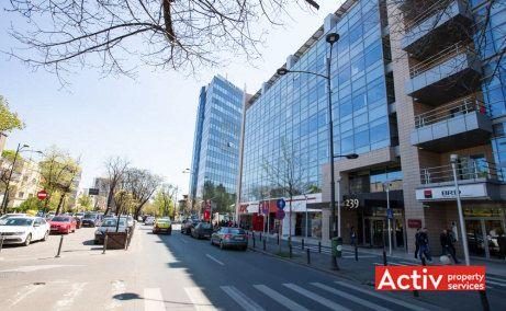 Dorobanți 239 spații birouri nord, Televiziune imagine stradală Dorobanți