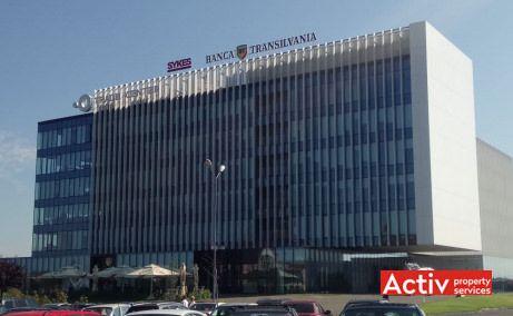 Centrul de Afaceri Oradea închirieri spații birouri vedere exterioară