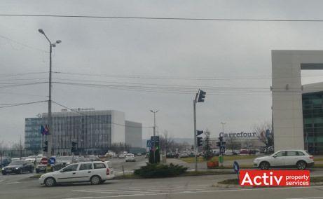 Centrul de Afaceri Oradea spațiu de birouri fotografie din sos principală