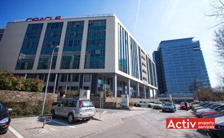 Floreasca Park spații birouri Barbu Văcărescu, curte interioară