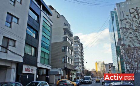 LOTUS OFFICES birou de închiriat Obor vedere din strada Avrig