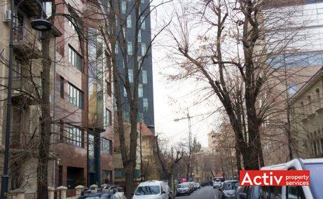 CASA STEGA spații birouri AVIATORILOR perspectiva încadrare în zonă