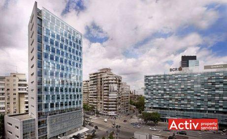 PREMIUM PLAZA spații birouri zona centrală Victoriei vedere aeriană