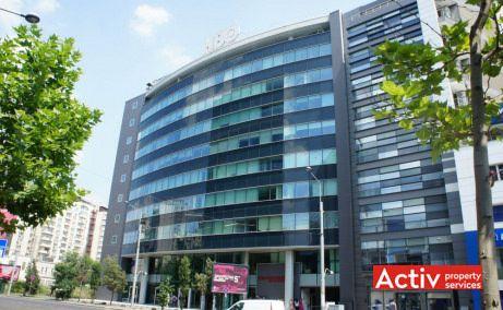 PREMIUM POINT spații birou centru Victoriei perspectivă fațadă