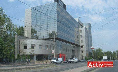 GLOBAL BUSINESS CENTER spații birouri metrou Politehnica vedere laterală