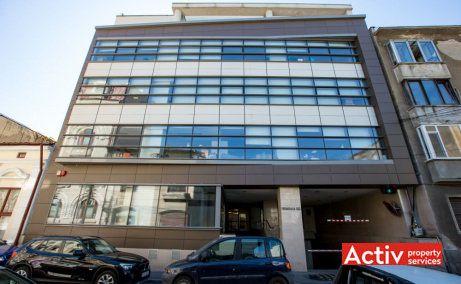 FRUMOASĂ OFFICE BUILDING spații birouri centru vedere fațadă