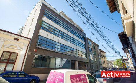 FRUMOASĂ OFFICE BUILDING închiriere birouri zona centrală imagine din stradă Frumoasă