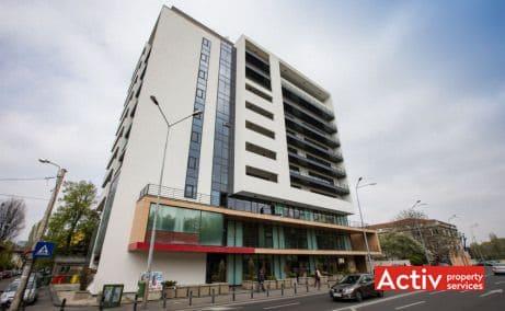 IZVOR 80 spații birouri centru vedere fațadă