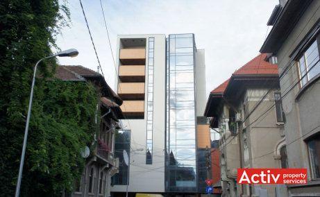AUREL VLAICU BUSINESS CENTER închiriere birouri zona centrală vedere din strada Alexandru Philippide
