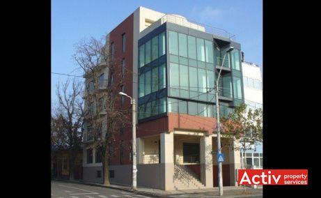 PLEVNEI 202 spații birouri zona centrală vedere fațadă