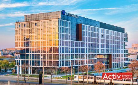 AFI TECH PARK închirieri spații birouri București zona centrală vedere de ansamblu