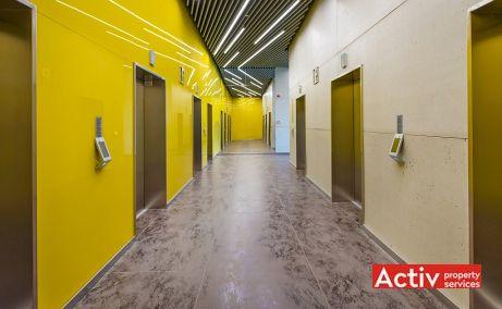 AFI TECH PARK spații de birouri București vedere zona lift