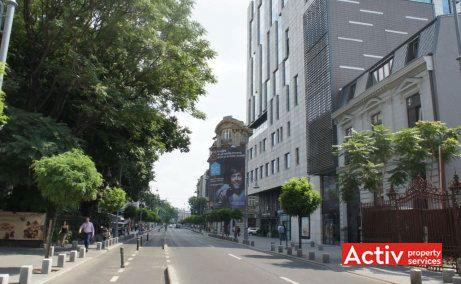 VICTORIA CENTER spații birouri centru perspectivă încadrare în zonă
