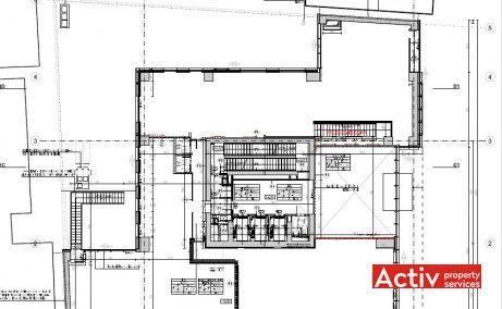 VICTORIA CENTER spațiu de birouri zona centrală Piața Victoriei plan