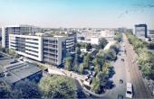 METROFFICE spații birouri nord vedere aeriană bd Dimitrie Pompeiu