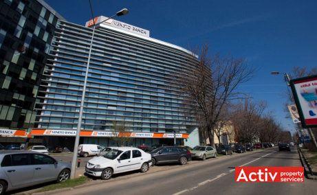 NOVA BUILDING spații birouri nord Barbu Văcărescu vedere din bd Dimitrie Pompeiu