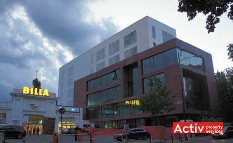 DOROBANTI 33A spații birouri zona centrală Piața Romană vedere exterioară