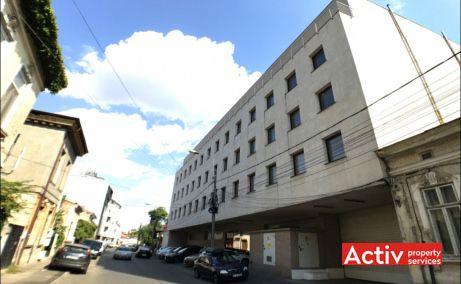 Vulturilor 12-14 spațiu de birouri centru Unirii perspectivă încadrare în zonă