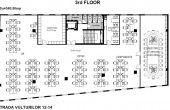 Vulturilor 12-14 închiriere spații birouri centru Unirii plan