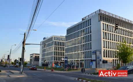 Swan Office & Technology Park, vedere acces catre Soseua Petricani