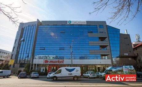 Art Business Center 5 spații birouri București nord vedere fațadă