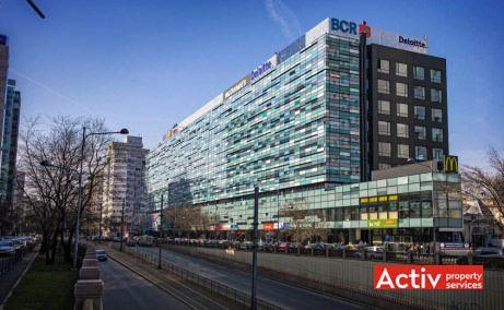 AMERICA HOUSE închirieri spații birouri București zona centrală, vedere pasaj Victoria