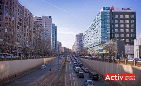 AMERICA HOUSE birou de închiriat București ultracentral Victoriei