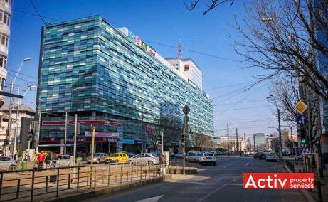 AMERICA HOUSE birou de închiriat metrou Victoriei imagine din bd Nicolae Titulescu