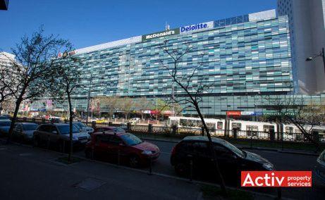 AMERICA HOUSE închiriere spațiu birou București centru, fotografie fațadă
