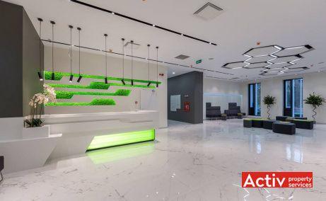 Park Avenue Offices birou de închiriat București metrou Aviatorilor imagine recepție