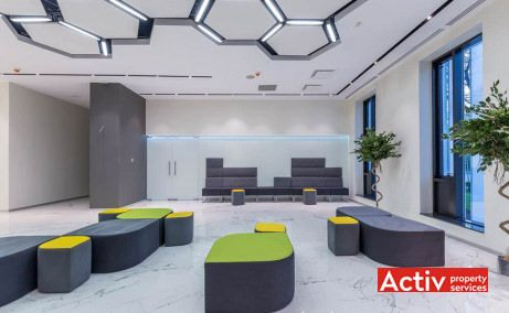 Park Avenue Offices spațiu de birouri metrou Aviatorilor, vedere interioară
