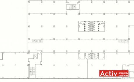 Helios Business Center Pallady birouri de închiriat metrou Nicolae Teclu plan