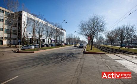 Helios Business Center Pallady spații de birouri metrou Nicolae Teclu vedere generală