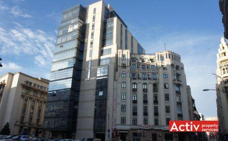 Excelsior Tower spații birouri zona centrală vedere din strada Academiei