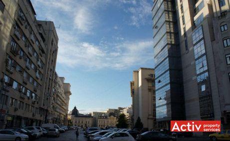 Excelsior Tower birouri de închiriat ultracentral vedere catre Piața Revoluției