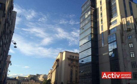 Excelsior Tower închiriere birouri ultracentral langa Ministerul Sănătății vedere laterală