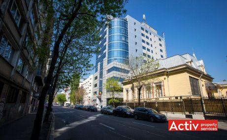 Union 2 spațiu de birouri Parcul Cișmigiu perspectivă încadrare în zonă