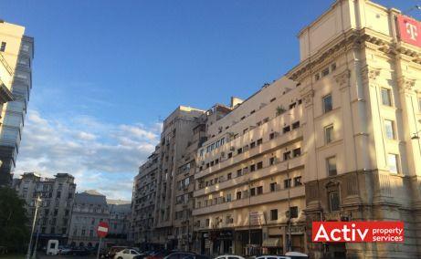 Clădirea de birouri Academiei Center, vedere laterală