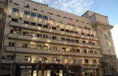 Clădirea de birouri Academiei Center, faţada nordică, vedere dinspre Calea Victoriei.
