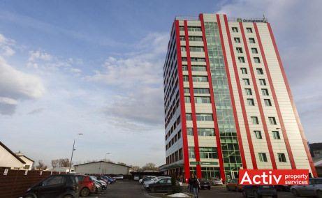 Amera Tower birouri de închiriat Cluj-Napoca nord perspectivă de ansamblu