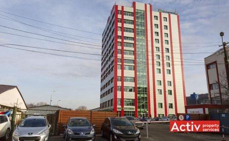 Amera Tower închirieri spații birouri Calea Baciului Cluj-Napoca vedere parcare