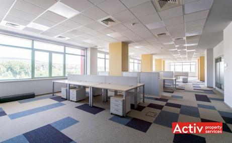 Amera Tower spații de birouri Cluj-Napoca imagine interior open space