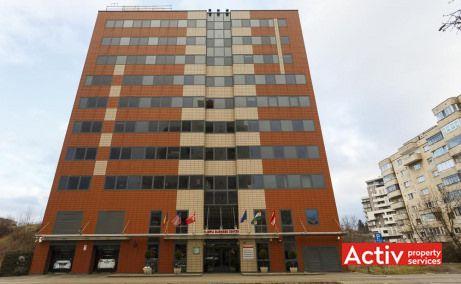 Olimpia Business Center închiriere birouri Cluj-Napoca vedere fațadă