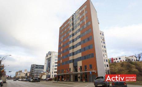 Olimpia Business Center închirieri spații birouri Cluj-Napoca perspectivă încadrare în zonă