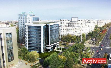 DAY TOWER închiriere birouri perspectivă aeriană bd Unirii