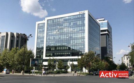 DAY TOWER spații birouri zona centrală Unirii proiecție aeriană